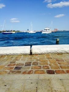 Splashing Boston Harbor