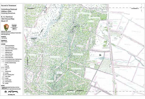 19 KGH 1863 Map