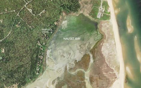 Nauset Bay aerial