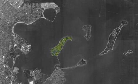 Thompson Island Aerial