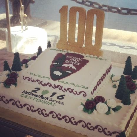 NPS Birthday Cake