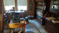 John Muir's writing room where the nature magic happened.
