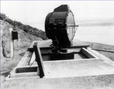 Search light from Fort Rosencrans, 1920