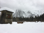 A snowshoeing trip in the Cascade Mountains