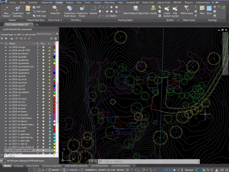 AutoCAD Map-in-Progress