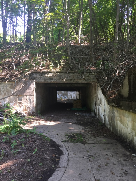 Entrance to Battery Whitman