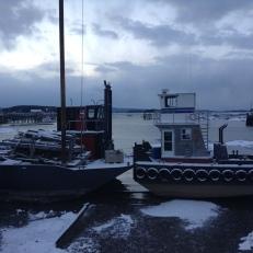 Tugboats in Stonington, ME