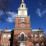 The Independence Hall bell tower